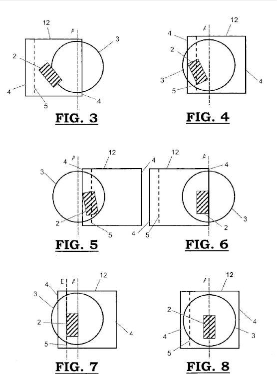 Procedimiento y dispositivo de medición y posicionamiento de objetos.