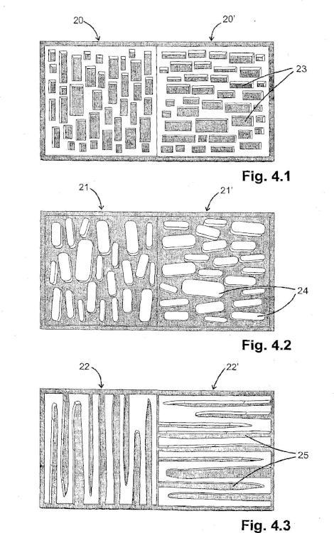 Microestructuras con relieve de superficie ópticamente eficaces y método para realizarlas.