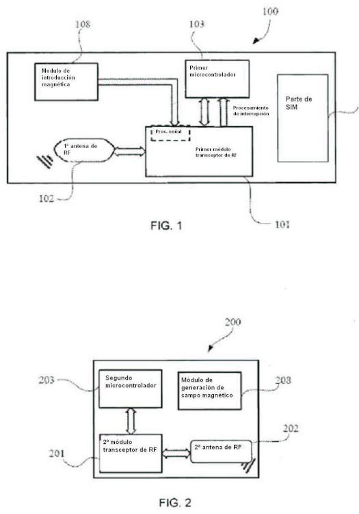 Tarjeta de radiofrecuencia y método de control de inducción magnética para comunicación por radiofrecuencia.