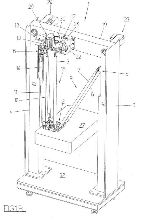 Ilustración 2 de la Galería de ilustraciones de Un dispositivo para mover y colocar un elemento en el espacio
