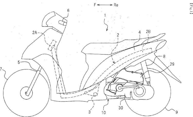 Motor de combustión interna y motocicleta equipada con el motor.