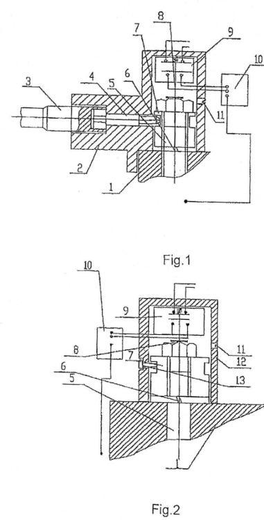 Un método y un aparato para el corte de la alimentación eléctrica con anterioridad a la apertura de una tapa.