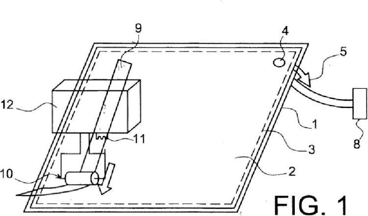Procedimiento de fabricación de una pieza de composite.