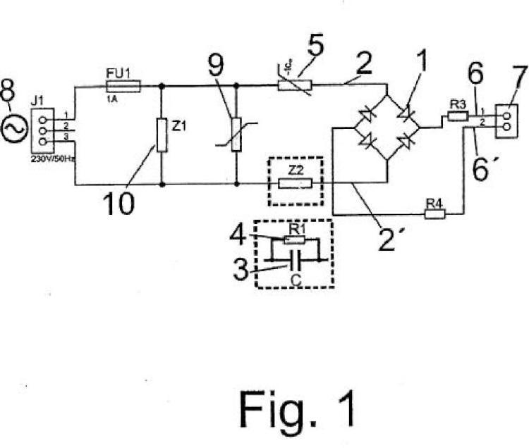 Circuito de alta eficiencia energética para conexión de diodos led de alta luminosidad.