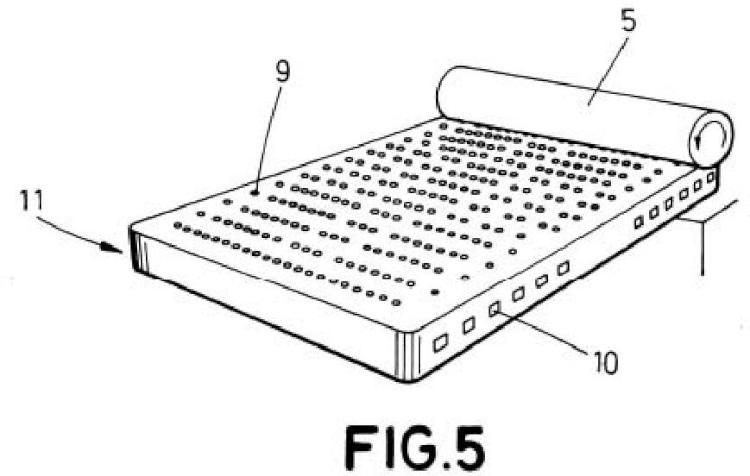 Material base de un elemento de descanso, y procedimiento de fabricación del elemento de descanso asociado al mismo.