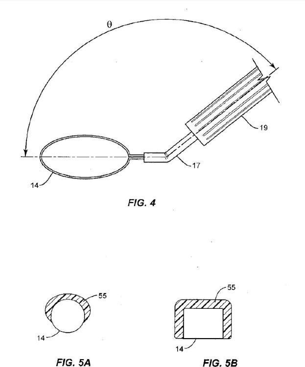 Dispositivo de capsulorrexis con elemento calefactor flexible.