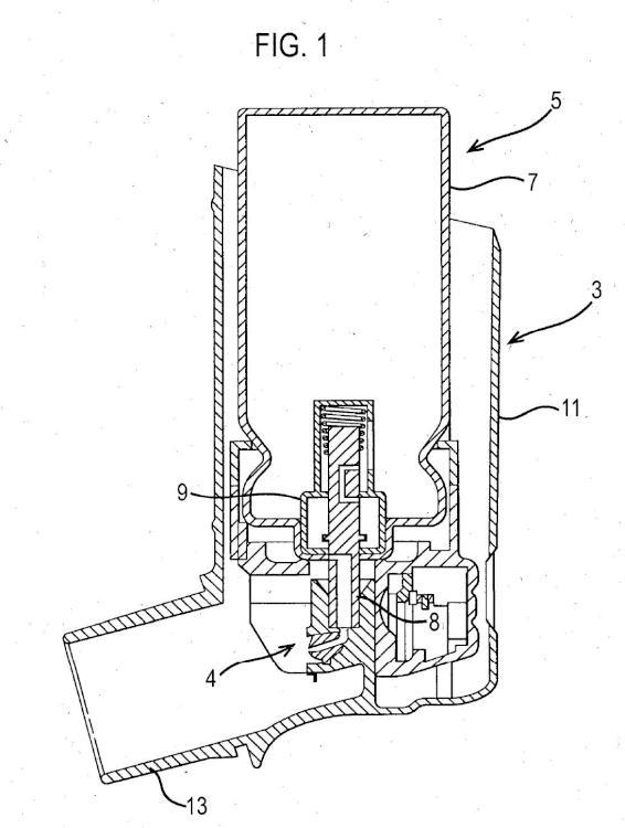 Accionador para un inhalador.