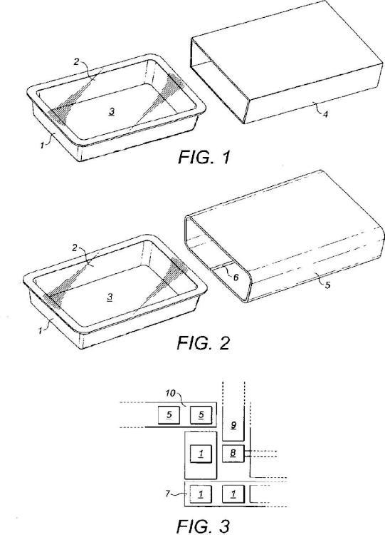 Método y aparato para empaquetar un producto en un empaque con bandeja y cubierta.