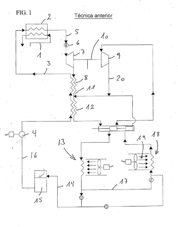 Aparato de refrigeración para acondicionamiento de aire y bombas de calor.