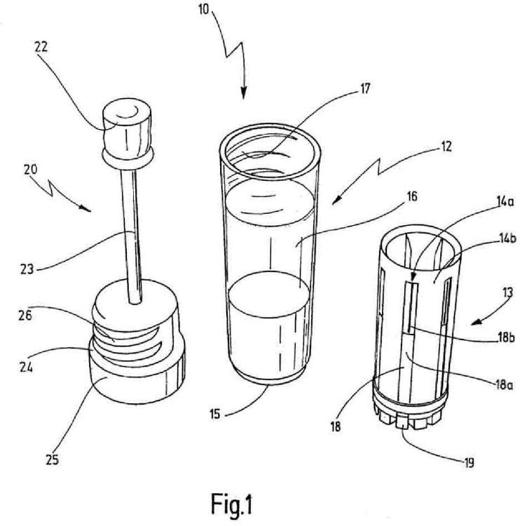 Dispositivo para la detección de analitos en fluidos corporales.