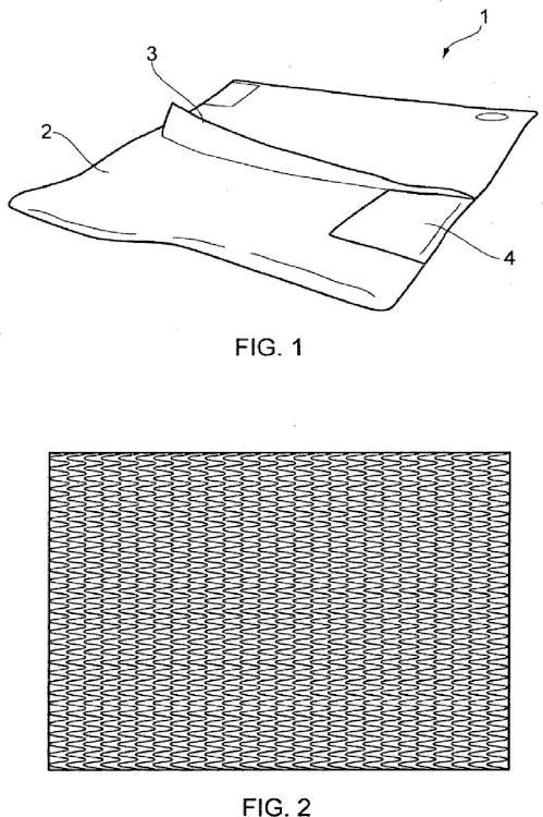 Estera para reducir la perturbación del material en partículas y líquidos por el viento.