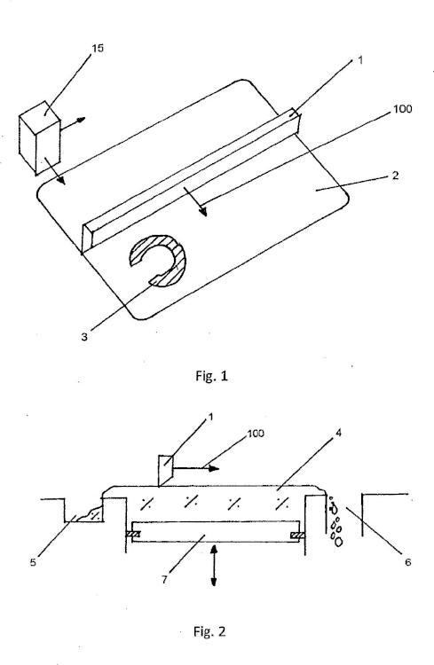 Dispositivo para fabricar modelos tridimensionales.