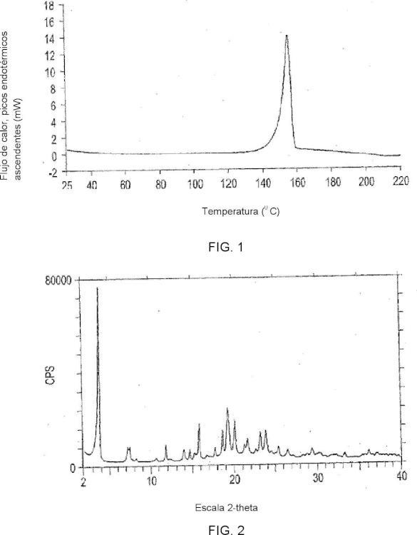 Formas cristalinas del ácido (3S)-3-[N-(N''-(2-terc-butilfenil)oxamil)alaninil]amino-5-(2'',3'',5'',6''-tetrafluorofenoxi)-4-oxopentanoico.