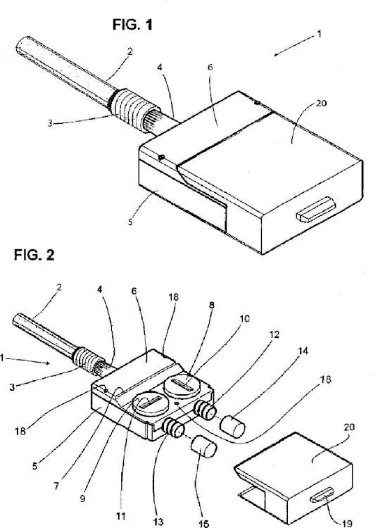 Dispositivo terminal externo para catéteres permanentes.