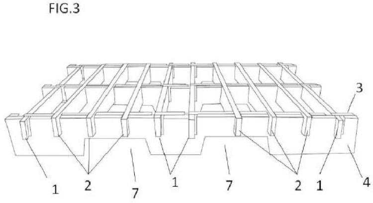 Estructura automontable desmontable.