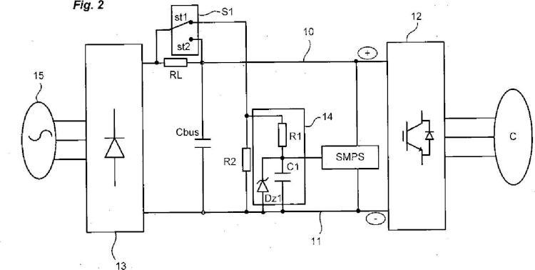 Convertidor de potencia y circuito de precarga del mismo.