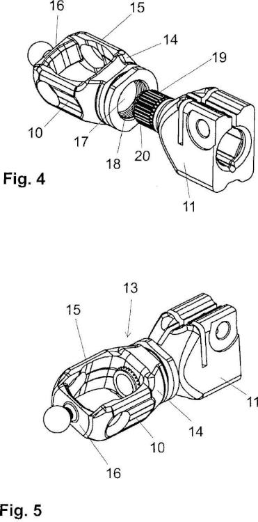 Dispositivo de unión y procedimiento para su fabricación.