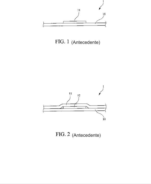 Estructura de un tejido tridimensional.