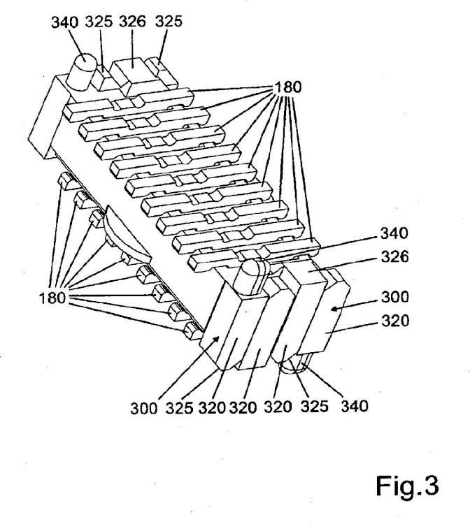 Conector eléctrico con elementos de contacto hermafroditas.