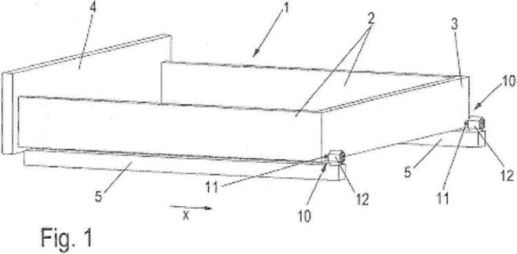 Dispositivo para el posicionado de un cajón sobre guías de cajón.