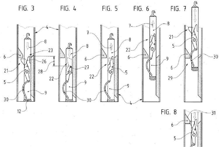Dispositivo anti-elevación de elemento de ocultación de sistema de cierre, de tipo persiana enrollable, toldo, mosquitera o similar.