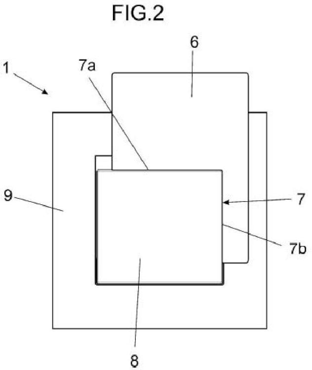 Dispositivo de conmutación a través de tarjeta.