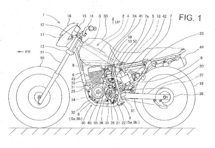 Motocicleta que tiene un sistema de suministro de combustible.