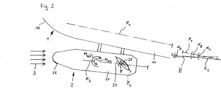 Procedimiento para desacoplar un artefacto volador de una aeronave portadora.
