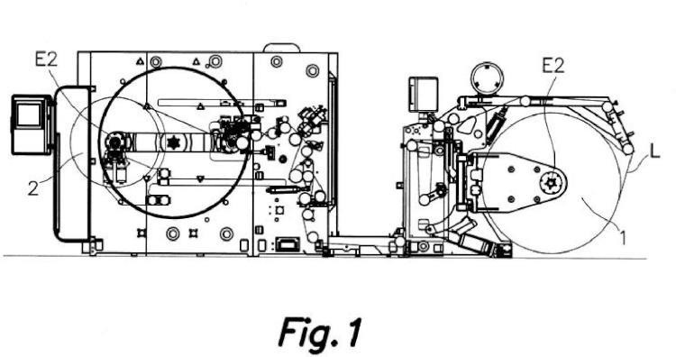 Método y sistema de ajuste de tensión en rebobinado para una máquina con una estación de rebobinado, programa de ordenador que implementa el método y máquina con estación de rebobinado.