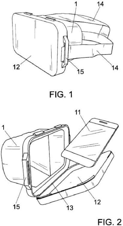 Dispositivo de visión estereoscopica para telefonos moviles y similares.
