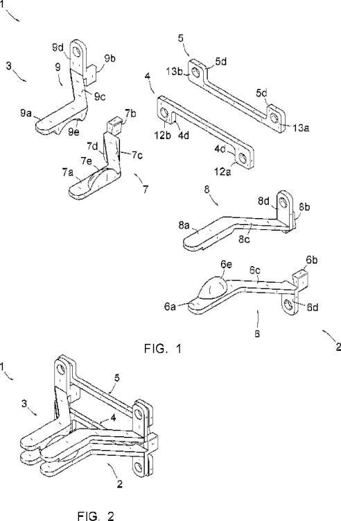 Dispositivo vertebral de disco-faceta.