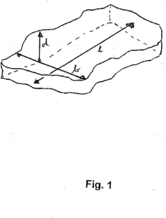 Papel para cigarrillos con carga en forma de plaquitas.