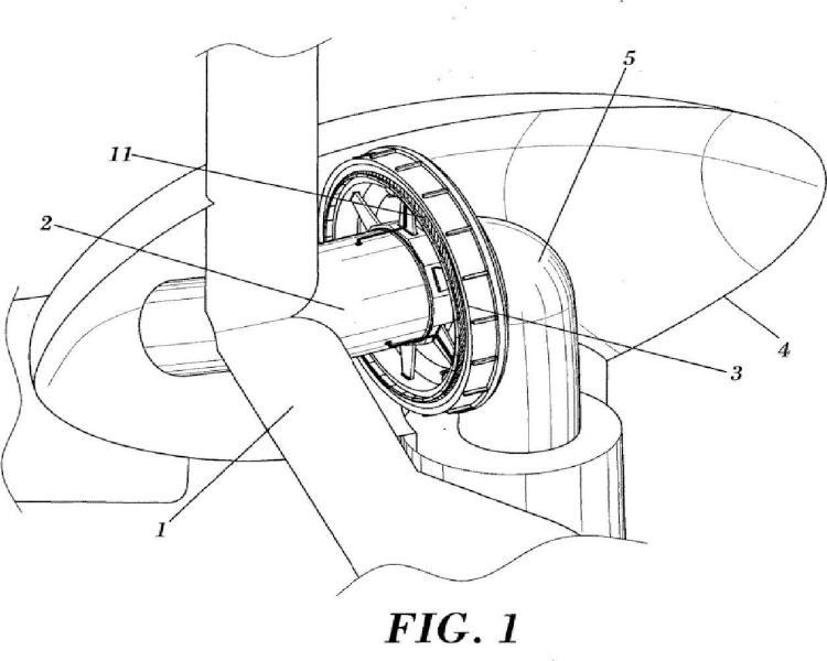 Generador síncrono superconductor de accionamiento directo para una turbina eólica.