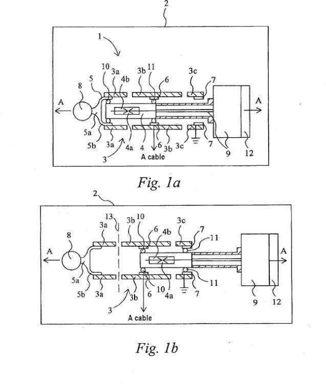 Una disposición de interrupción para un aparellaje eléctrico.