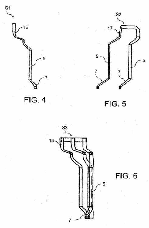 Método y aparato para retorcer conductores de barra, en particular para devanados de barra de máquinas eléctricas.