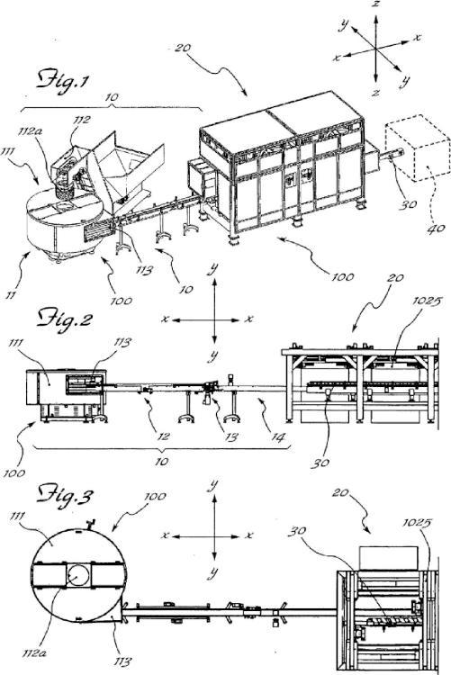 Sistema y método de alimentación de botellas.