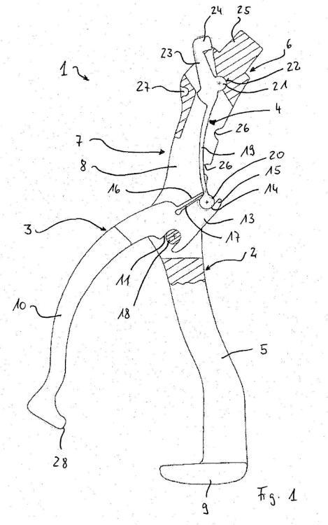 Pieza de retención y de agarre para una herramienta médica, en particular una herramienta quirúrgica.
