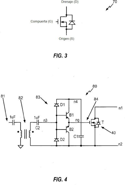 Aparato y procedimiento de implementación de un amplificador de excitación diferencial y una disposición de bobinas.