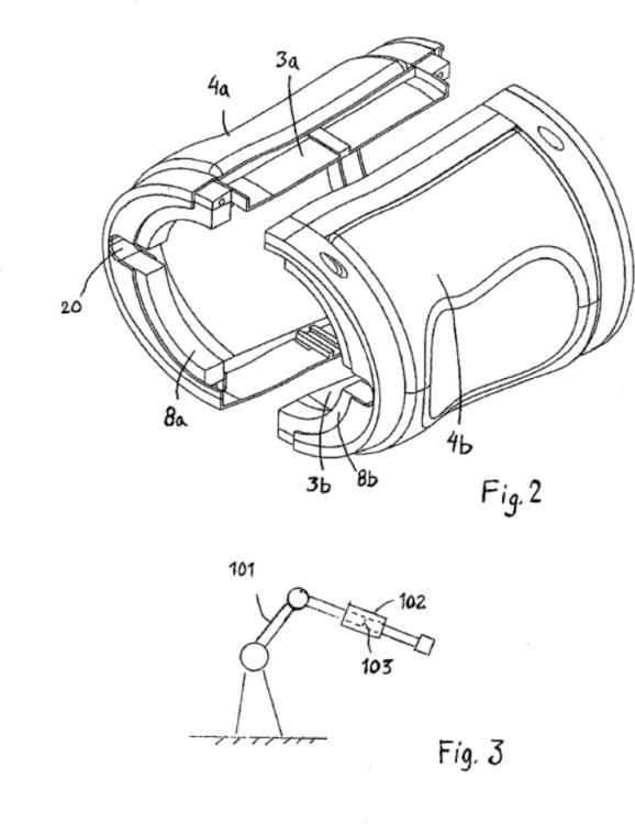 Pieza de robot y método para proteger una pieza de robot.