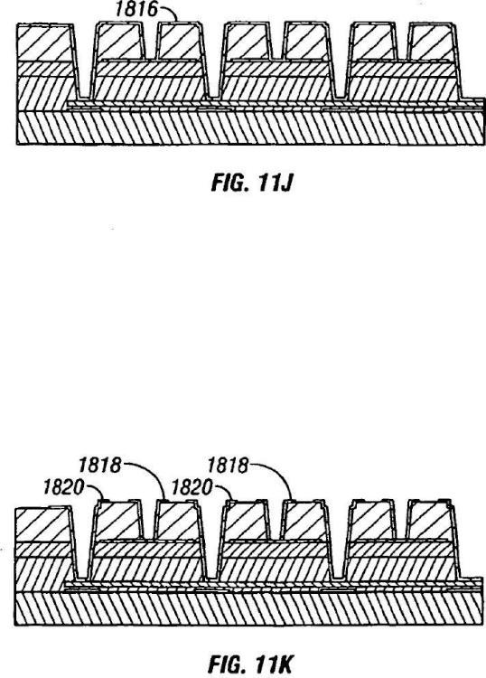 Estructura de bus conductor para matriz de moduladores interferométricos.