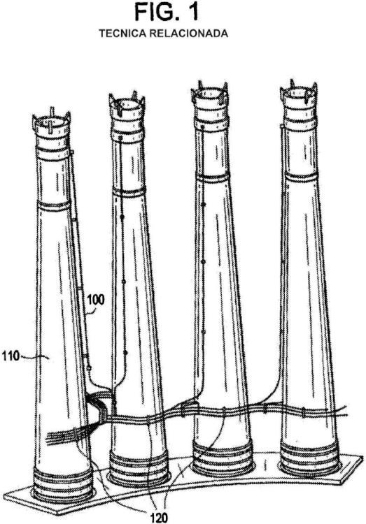 Dispositivo de fijación para fijar dos componentes y procedimiento de fijación de un conducto de detección de una bomba de chorro.