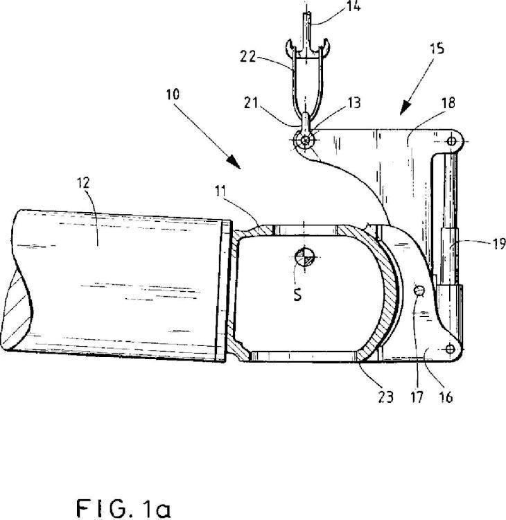 Procedimiento y dispositivo para la manipulación de un cubo de rotor de una instalación de energía eólica.