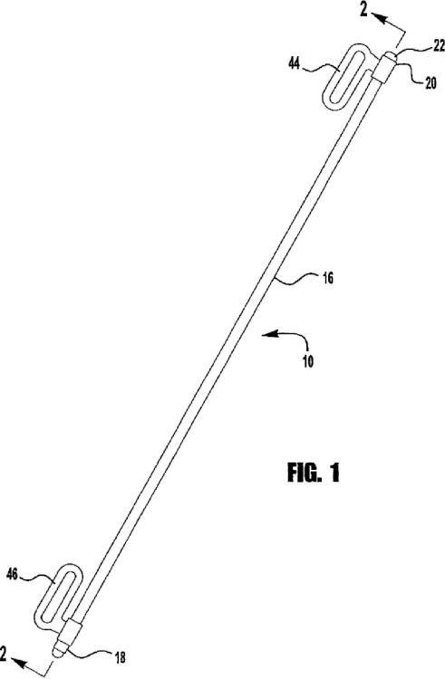 Método y dispositivo para almacenar una fibra óptica de láser.