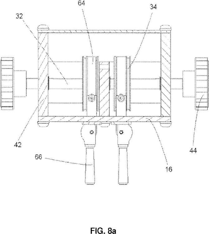 Dispositivo dispensador de material en forma de tira.