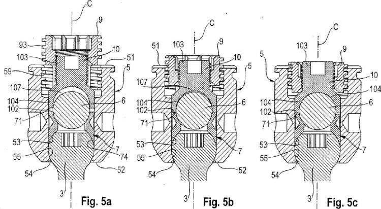 Sistema de bloqueo para un dispositivo de anclaje óseo poliaxial.
