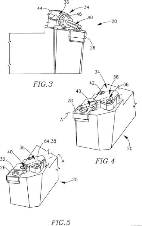 Elemento de transporte de refrigerante para una herramienta de corte y un método para la misma.