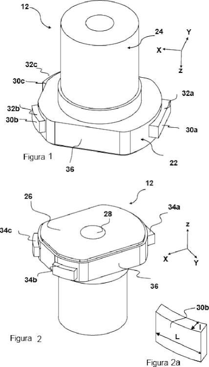 Boquilla interna para transferir metal fundido contenido en un recipiente metalúrgico y dispositivo para transferir metal fundido.