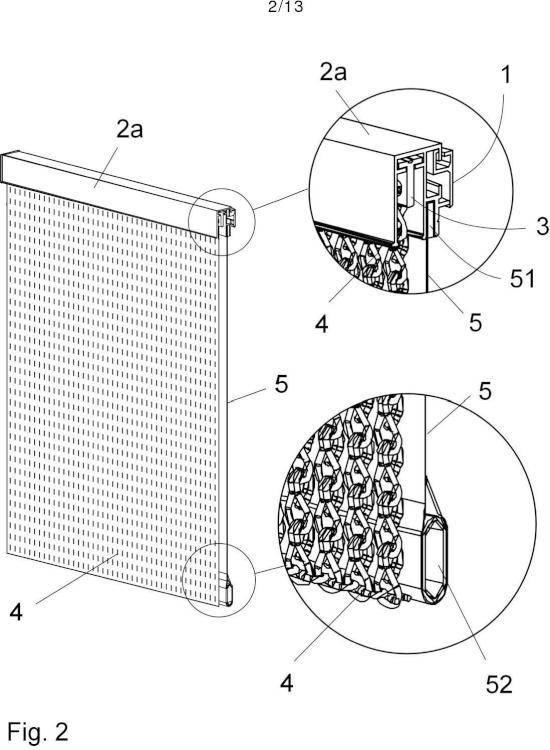 Dispositivo de soporte para elementos decorativos.