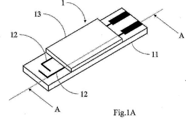 Tira electroquímica y método de fabricación.