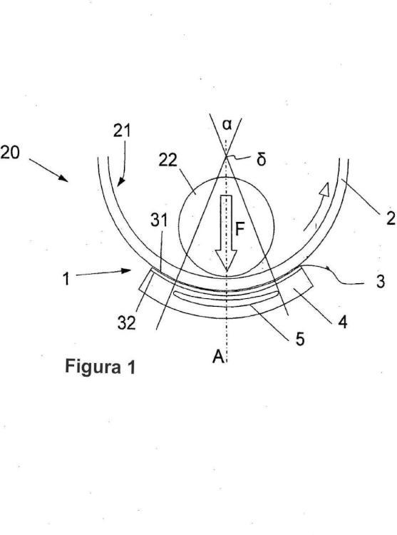 Cojinete hidrodinámico destinado a sostener un cilindro animado de un movimiento de rotación alrededor de su eje.